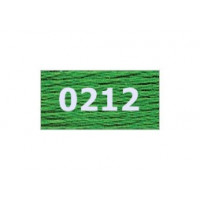 "Гамма 0207-0819 мулине ""Gamma"" (0207-0819) х/б 8 м (0212, зеленый)"