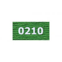 "Гамма 0207-0819 мулине ""Gamma"" (0207-0819) х/б 8 м (0210 , травяной)"