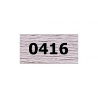 "Гамма 0207-0819 мулине ""Gamma"" (0207-0819) х/б 8 м (0416, св.серый)"
