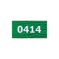 "Гамма 0207-0819 мулине ""Gamma"" (0207-0819) х/б 8 м (0414, зеленый)"