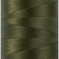 """Gamma 500D/3 Швейные нитки (полиэстер) 500D/3 """"Gamma"""" / """"Micron"""" обувные 183 м 200 я №423 т.хаки"""