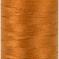 """Gamma 500D/3 Швейные нитки (полиэстер) 500D/3 """"Gamma"""" / """"Micron"""" обувные 183 м 200 я №439 рыжий"""