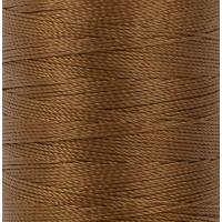 """Gamma 500D/3 Швейные нитки (полиэстер) 500D/3 """"Gamma"""" / """"Micron"""" обувные 183 м 200 я №442 коричнево-рыжий"""