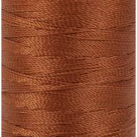 """Gamma 500D/3 Швейные нитки (полиэстер) 500D/3 """"Gamma"""" / """"Micron"""" обувные 183 м 200 я №446 рыжий"""