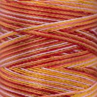 Gamma  Нитки для вышивания мультиколор M120/2 100% вискоза 5000 я Set 2 теплые светлые