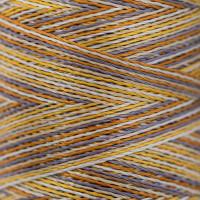 Gamma  Нитки для вышивания мультиколор M120/2 100% вискоза 5000 я Set 3 металлик