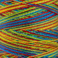 Gamma  Нитки для вышивания мультиколор M120/2 100% вискоза 5000 я Set 4 яркие