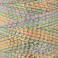 Gamma  Нитки для вышивания мультиколор M120/2 100% вискоза 5000 я Set 5 светлые