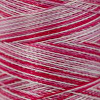 Gamma  Нитки для вышивания мультиколор M120/2 100% вискоза 5000 я Set 8 розовые