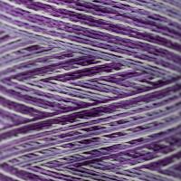 Gamma  Нитки для вышивания мультиколор M120/2 100% вискоза 5000 я Set 9 фиолетовые