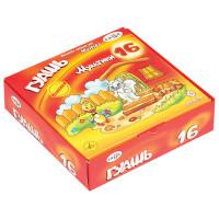 """Гамма 221032_16 Гуашь ГАММА """"Мультики"""", 16 цветов по 20 мл, без кисти, картонная упаковка, 221032_16"""