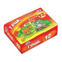 """Гамма 221032Н Гуашь ГАММА """"Мультики"""", 12 цветов по 40 мл, без кисти, картонная упаковка, 221032Н"""