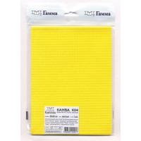 Гамма К04 Канва, 100% хлопок (жёлтый)