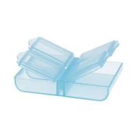 Гамма  Контейнер со съемной крышкой (голубой\прозрачный)