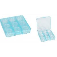 """Гамма  Коробка """"Gamma"""" ОМ-086-057 пластик, 13,5*13,7*2,3 см (прозрачный)"""