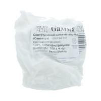 Гамма  Синтепух (синтетический наполнитель) 100% полиэфир 100 г ± 4 г белый