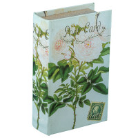 "Gamma BBK-01 ""Gamma"" BBK-01 шкатулка-книга 17 x 11 x 5 см №003 ""Белые розы"""