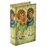 "Gamma BBK-01 ""Gamma"" BBK-01 шкатулка-книга 17 x 11 x 5 см №012 ""Детство"""