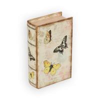 "Gamma BBK-01 ""Gamma"" BBK-01 шкатулка-книга 17 x 11 x 5 см №053 ""Бабочки"""