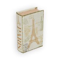 "Gamma BBK-01 ""Gamma"" BBK-01 шкатулка-книга 17 x 11 x 5 см №061 ""Любовь в Париже"""
