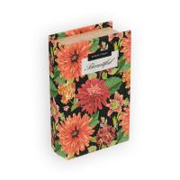"Gamma BBK-01 ""Gamma"" BBK-01 шкатулка-книга 17 x 11 x 5 см №062 ""Цветы"""