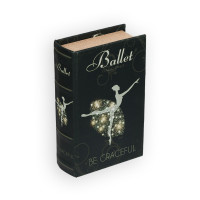 "Gamma BBK-01 ""Gamma"" BBK-01 шкатулка-книга 17 x 11 x 5 см №069 ""Балет"""