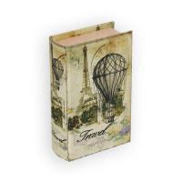 "Gamma BBK-01 ""Gamma"" BBK-01 шкатулка-книга 17 x 11 x 5 см №073 ""Путешествие на воздушном шаре"""