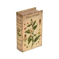 "Gamma BBK-01 ""Gamma"" BBK-01 шкатулка-книга 17 x 11 x 5 см №088 ""Ботаника"""