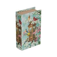 "Gamma BBK-01 ""Gamma"" BBK-01 шкатулка-книга 17 x 11 x 5 см №094 ""Птичье царство"""