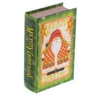 "Gamma BBK-01 ""Gamma"" BBK-01 шкатулка-книга 17 x 11 x 5 см СК/Распродажа №014 ""Санта Клаус"""