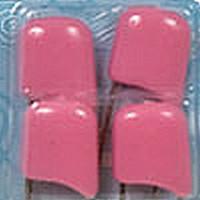 Гамма BUK-004/4 Булавки английские с безопасным замком в блистере, цвет - розовый