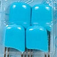 Гамма BUK-004/7 Булавки английские с безопасным замком в блистере, цвет - голубой