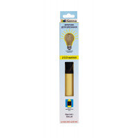 """Gamma CH-LD Для вязания """"Gamma"""" CH-LD крючок с подсветкой пластик d 5.0 мм 15.6 см в картонной упаковке с европодвесом желтый"""