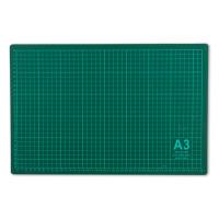 Гамма DK-003 Мат для резки DK-003 «Gamma» 45x30 см формат А3/серо-зеленый