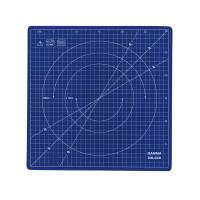 """Gamma DK-030 """"Gamma"""" DK-030 Вращающийся мат для кроя 30 x 30 см в пакете с картонным еврослотом синий"""