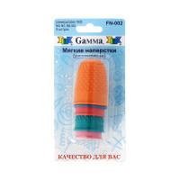 Gamma FN-002 Наперсток для фелтинга в блистере 5 шт ассорти FN-002  (размеры: №00; №0; №1; №2; №3)