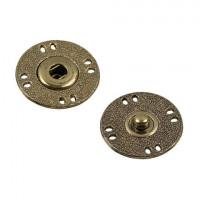 Гамма KLO-25 Кнопки пришивные Gamma KLO-25  d25 мм  5шт. №03 под бронзу