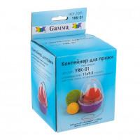 Гамма Контейнер для пряжи «Gamma» YRK-01 пластик, малый Контейнер для пряжи «Gamma» YRK-01 пластик, малый