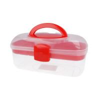 """Gamma ОМ-055 """"Gamma"""" Коробка для шв. принадл. пластик ОМ-055 прозрачная"""