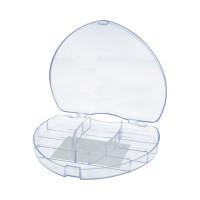 """Gamma ОМ-118 """"Gamma"""" Коробка для шв. принадл. пластик ОМ-118 прозрачная"""