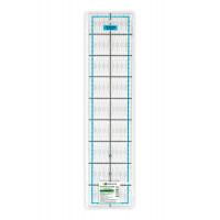 """Gamma QRL-07 Линейка для пэчворка 10 x 45 см в пакете пластик """"Gamma"""" QRL-07"""