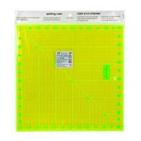 """Gamma RL-002 """"Gamma"""" RL-002 Линейка для пэчворка 31.5 x 31.5 см в пакете с еврослотом  пластик"""