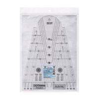 "Gamma RL-005 Линейка для пэчворка 20.6 x 28.5 см пластик ""Gamma"" RL-005"