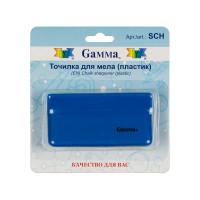 "Gamma SCH ""Gamma"" SCH Точилка для мела пластик в блистере синяя"
