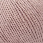 Пряжа для вязания Gazzal Organic Baby Cotton (Газзал Органик Беби Коттон) Цвет 416 пудра