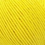 Пряжа для вязания Gazzal Organic Baby Cotton (Газзал Органик Беби Коттон) Цвет 420 желтый
