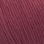 Пряжа для вязания Gazzal Organic Baby Cotton (Газзал Органик Беби Коттон) Цвет 429 бордовый