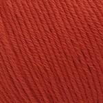 Пряжа для вязания Gazzal Organic Baby Cotton (Газзал Органик Беби Коттон) Цвет 432 красный