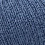 Пряжа для вязания Gazzal Organic Baby Cotton (Газзал Органик Беби Коттон) Цвет 434 джинсовый