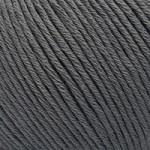 Пряжа для вязания Gazzal Organic Baby Cotton (Газзал Органик Беби Коттон) Цвет 435 темно серый